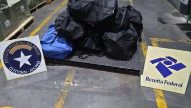 Photo of Mais 300 kg de cocaína apreendidos em Paranaguá (VÍDEO)