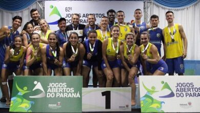 Photo of Paranaguá conquista ouro na fase final de Handebol de Areia