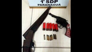 Photo of Polícia Civil apreende armas dentro de caminhonete em Paranaguá