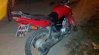 Photo of PM recupera moto furtada em Paranaguá que estava com placa de plástico