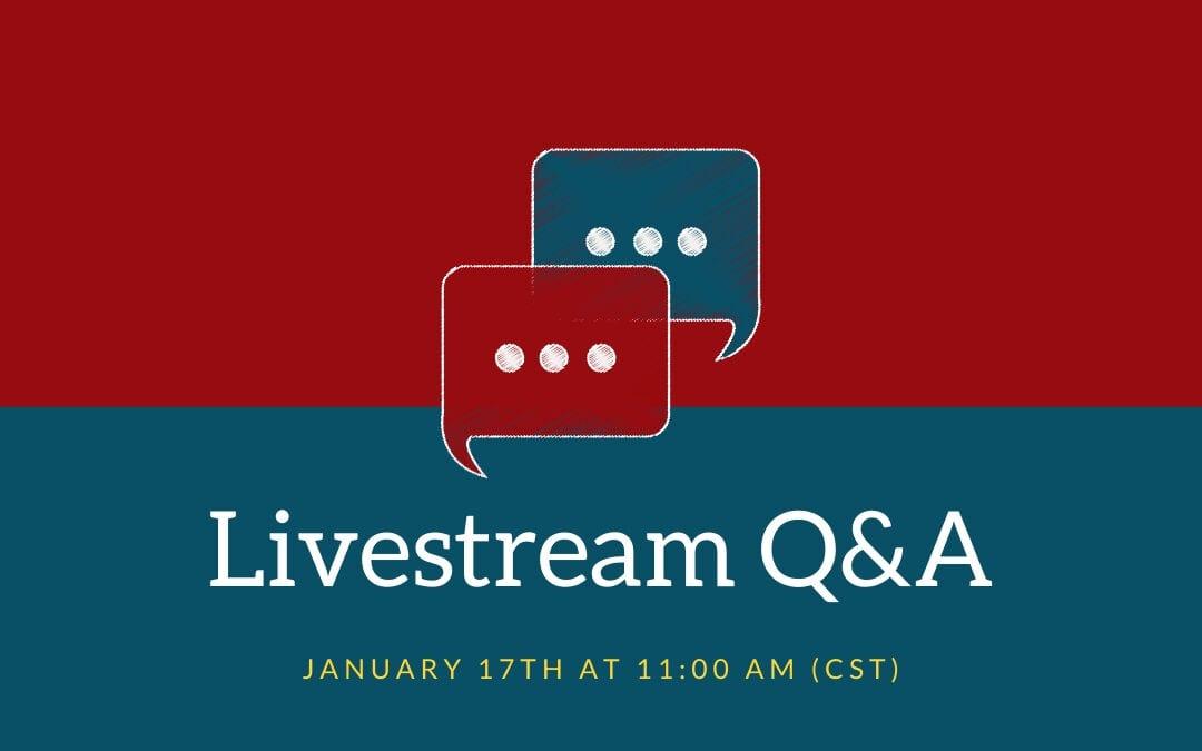 MRC Q&A Livestream Registration