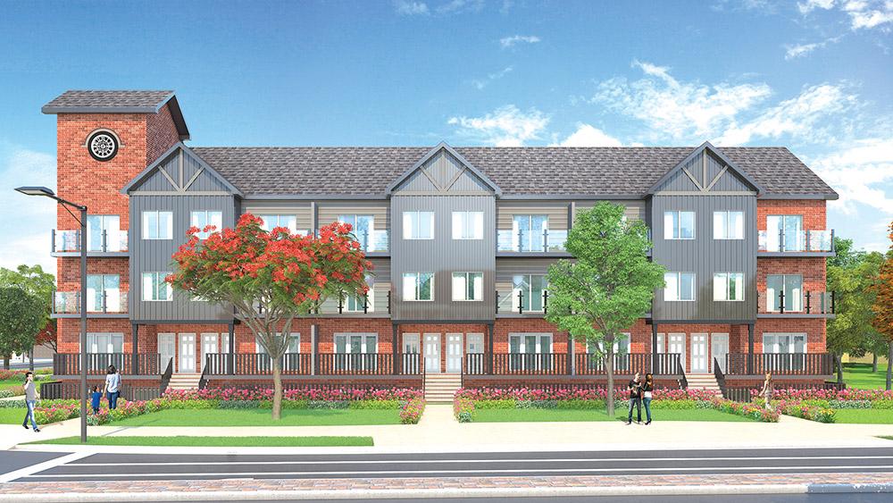Townhouse Development Plan – 0.744 acres
