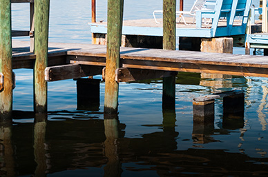 Ocean and pier