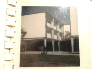 Our Basic Training dorm building at Lackland Air Force Base, 1973. Photo courtesy of Ray Hanania