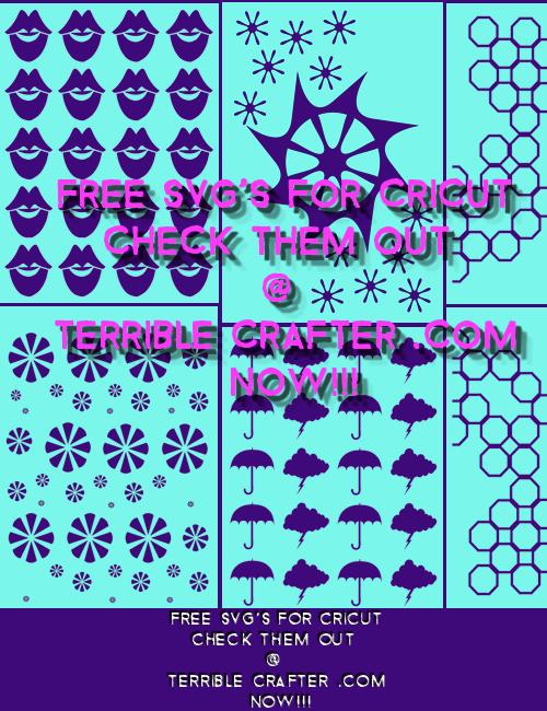 Free Stencil SVG's For Cricut