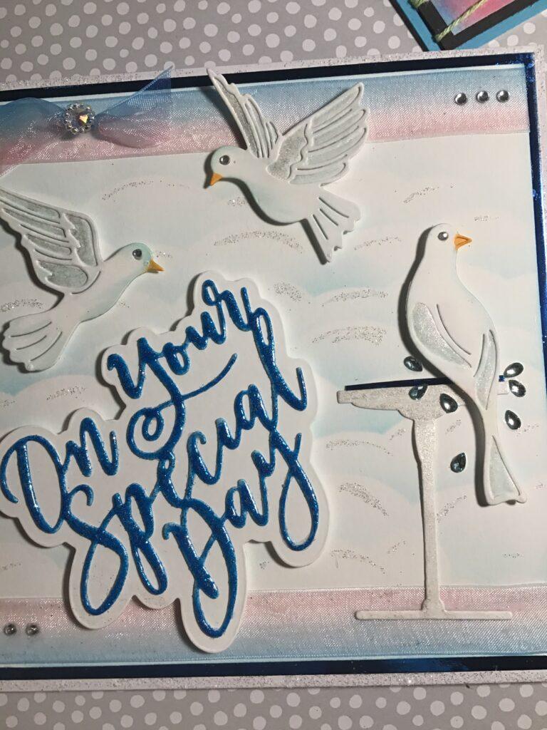 Christina Griffith Beautiful Birds Set – Card- 2 Ways