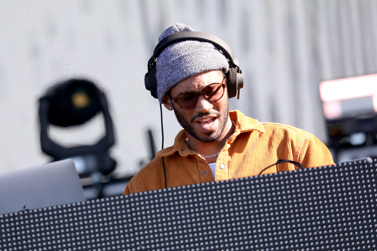 Kaytranada performs onstage at SOMETHING IN THE WATER - Day 2 on April 27, 2019 in Virginia Beach City.