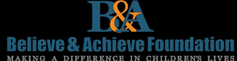 believe and achieve foundation logo