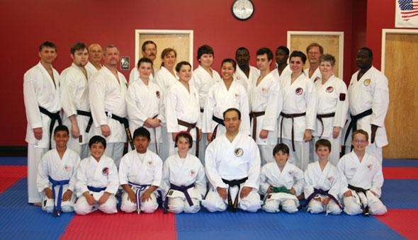 Hanshi Madani with IMA Utah Students