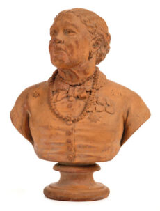 A bust of Mary Seacole