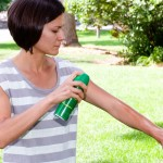 How to apply insect repellent