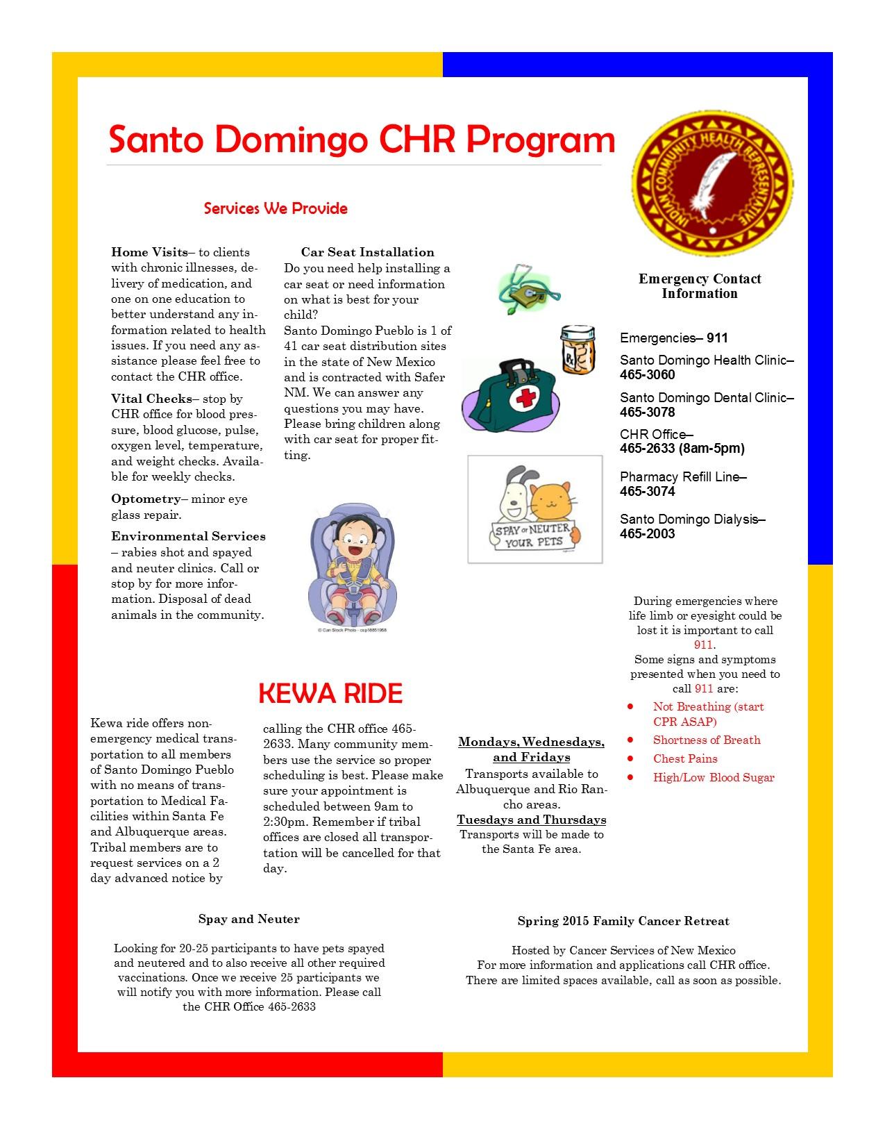 CHR March Newsletter
