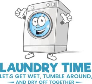 Laundry Time Circle