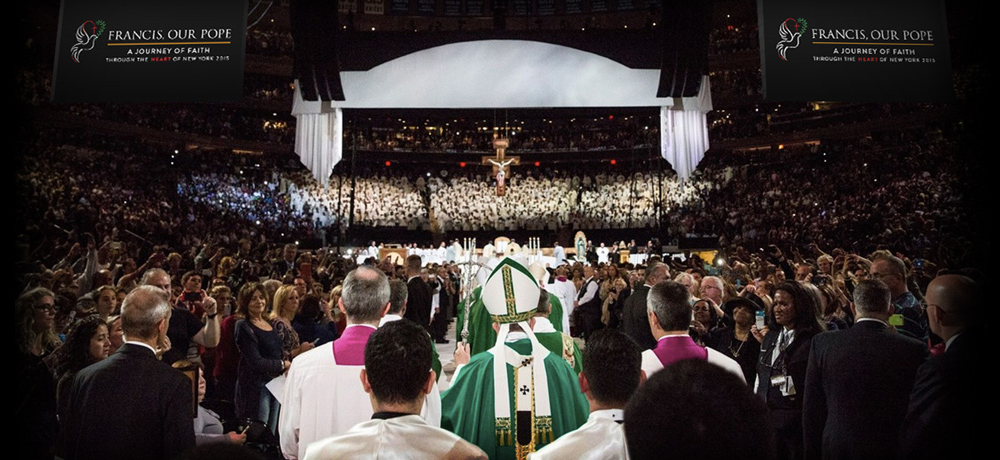 Pope Francis at Madison Square Garden