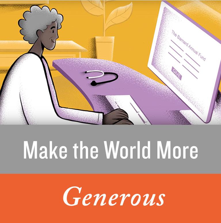 Make the World More Generous