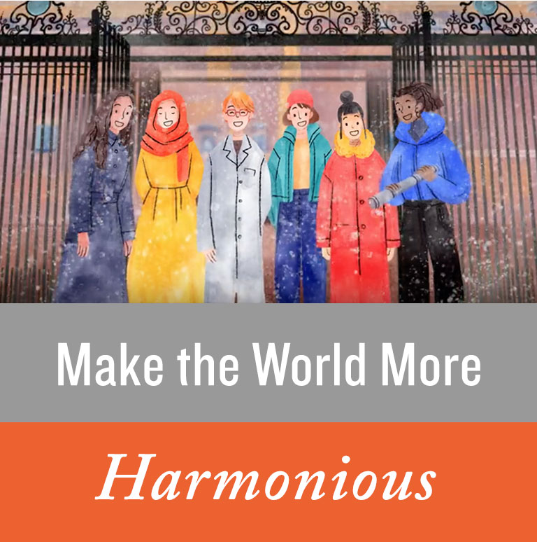 Make the World More Harmonious