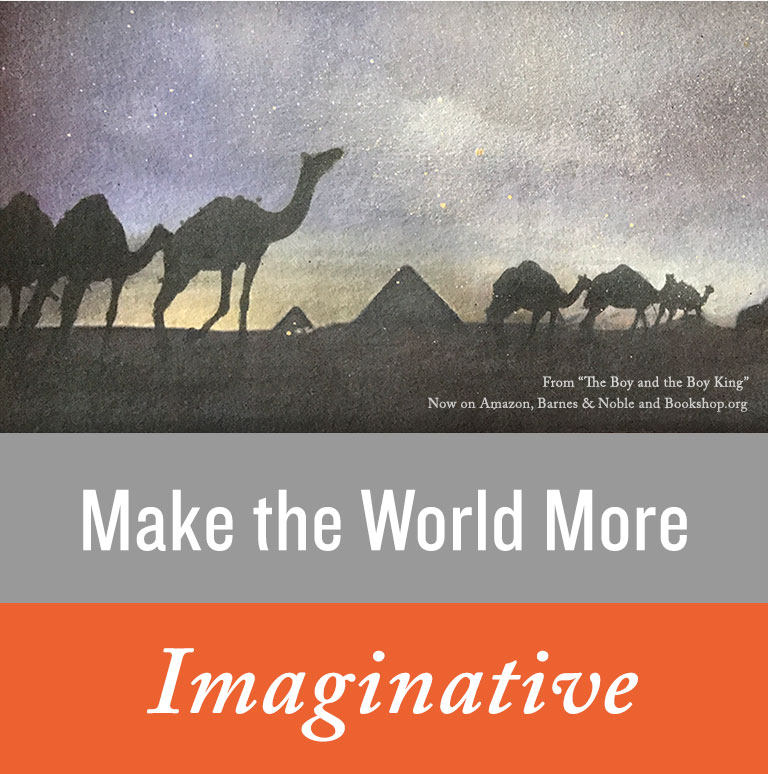 Make the World More Imaginitive