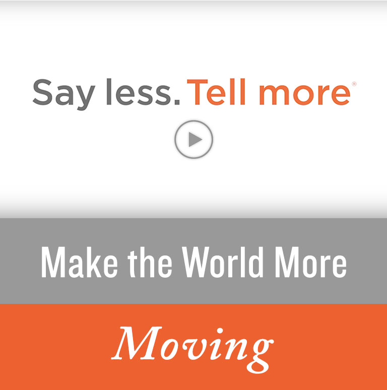 Make the World More Moving