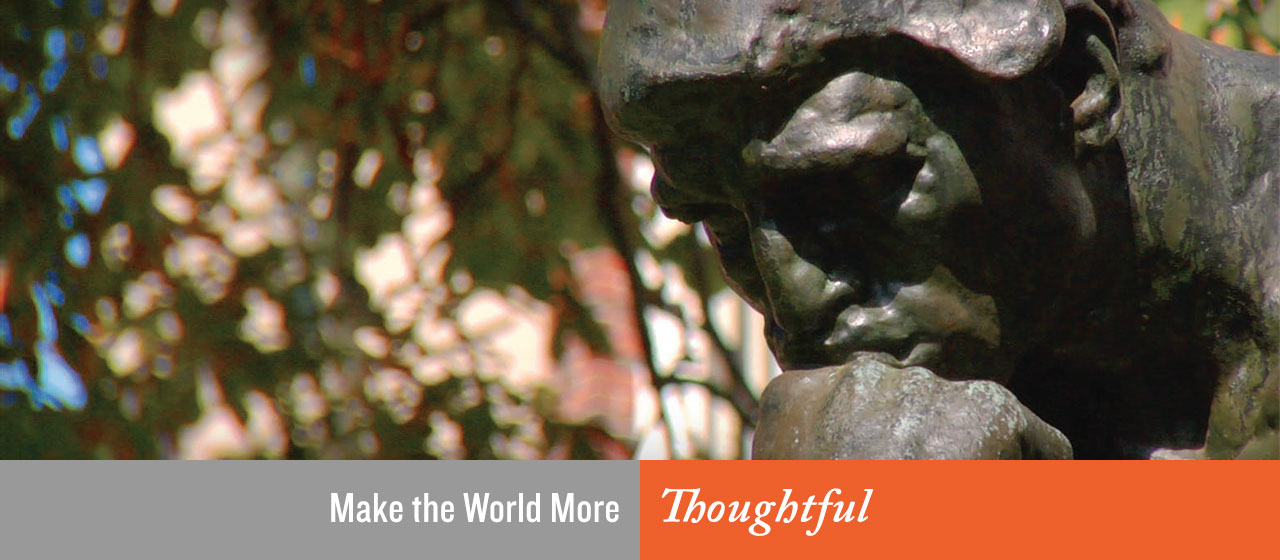 Make the World More Thoughtful
