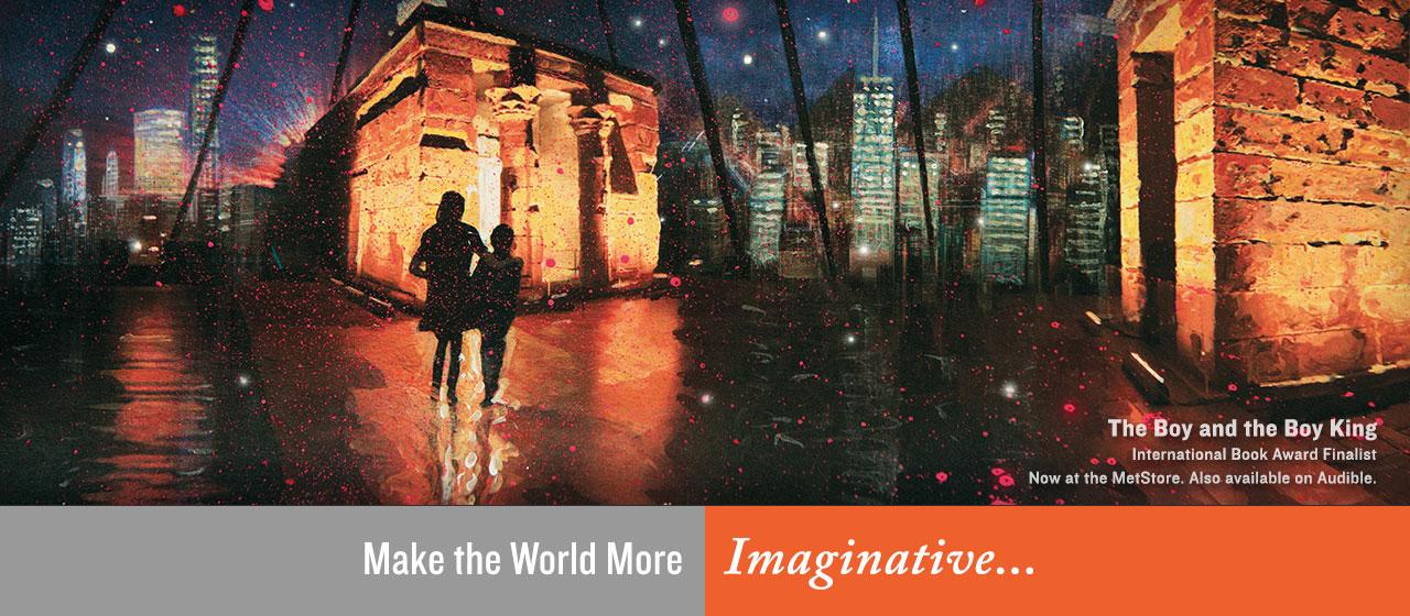 Make the World More Imaginative