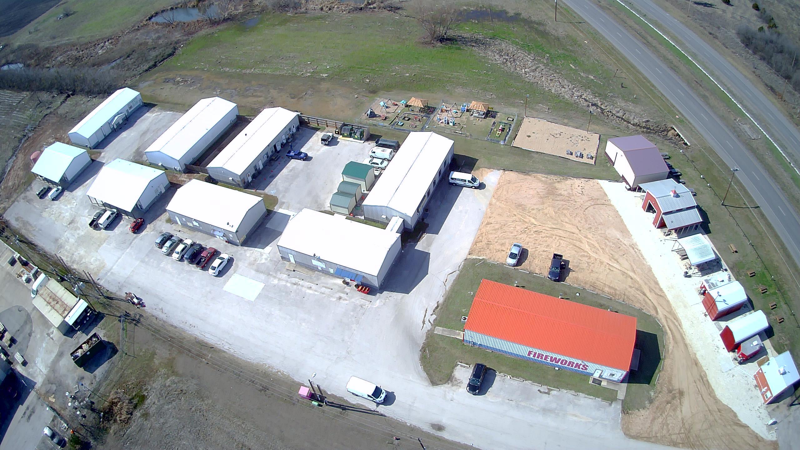 Manor Business Center Aerial Photo
