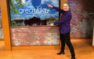 """Carla appears on Great Day Washington highlighting """"Write to Influence!"""" and workshops on the college entrance essay."""