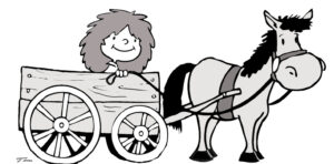 Critical in writing ... put key info first ... horse before the cart