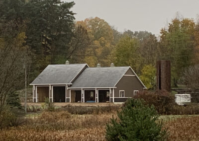 Dorr Barn View from Road