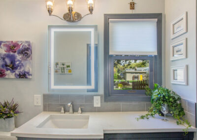 GroveBluff Bathroom Sink and Mirror