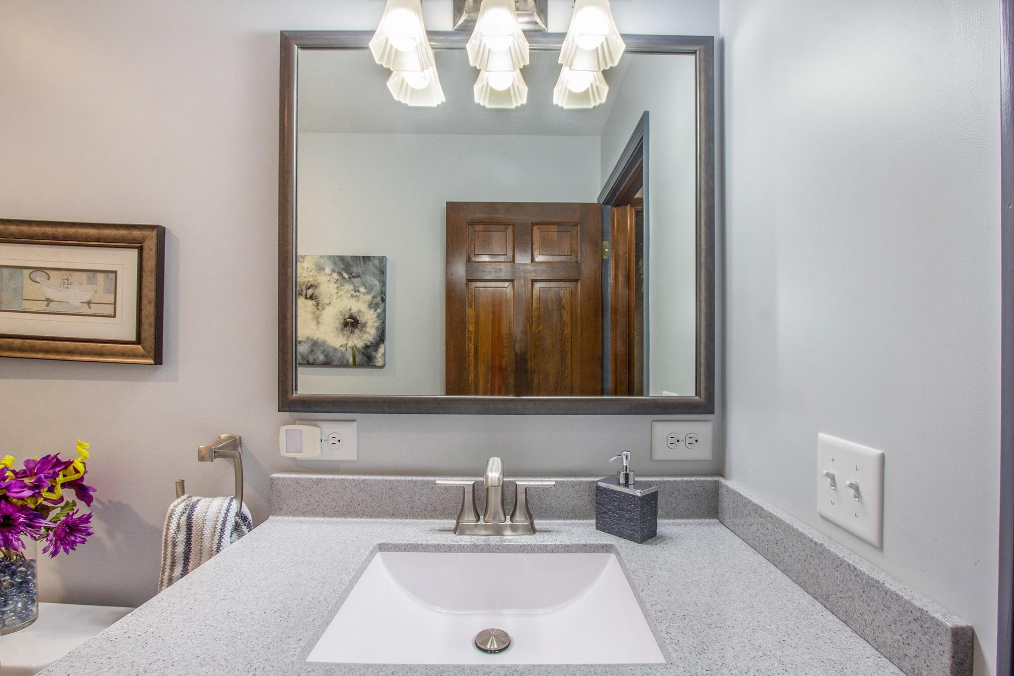 GroveBluff Sink and Mirror