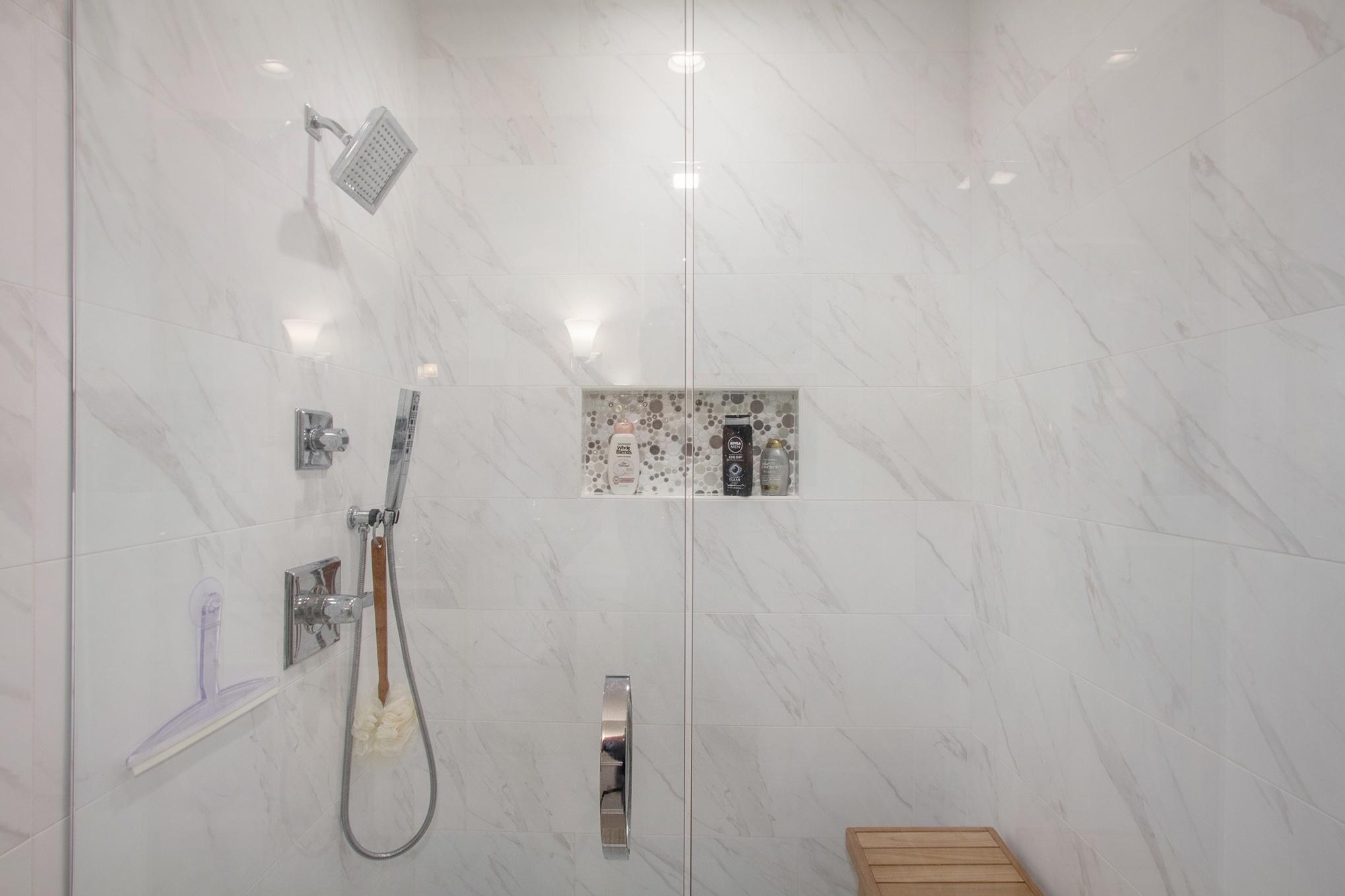 IMG_49Custom Home First Floor Master Bathroom Shower
