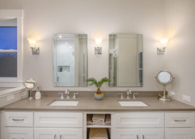 Custom Home First Floor Master Bathroom