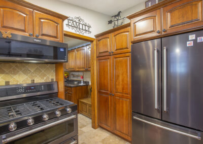 Lowell Kitchen Modern Stainless Steel Appliances
