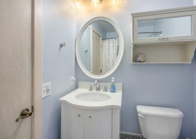 Pratt Lake Bathroom Area