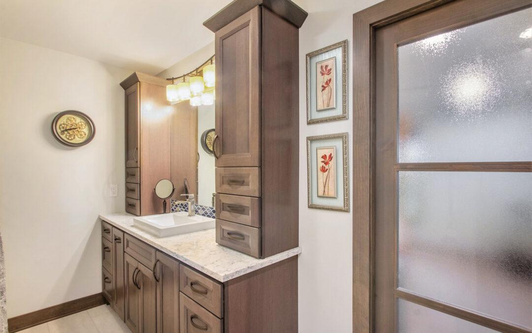 Pratt Lake Custom Bathroom Remodel