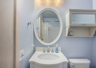 Pratt Lake Sink and Mirror