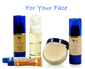 For your face
