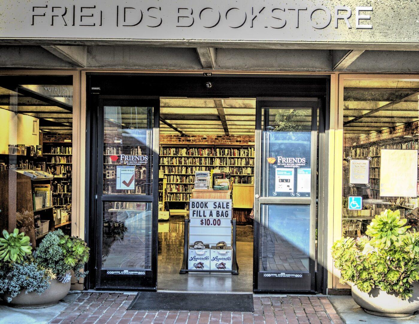 friends bookstore wide 7.5
