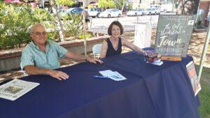 Tom Atkinson and Cheryl McKenzie