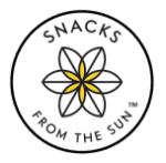 Snacks from the sun logo