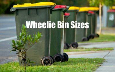 Wheelie Bin Sizes In Ballina