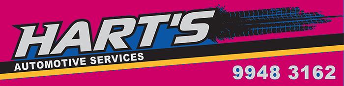 Hart's Automotive Logo footer