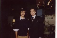 Dan Rather & me at 60 MINUTES