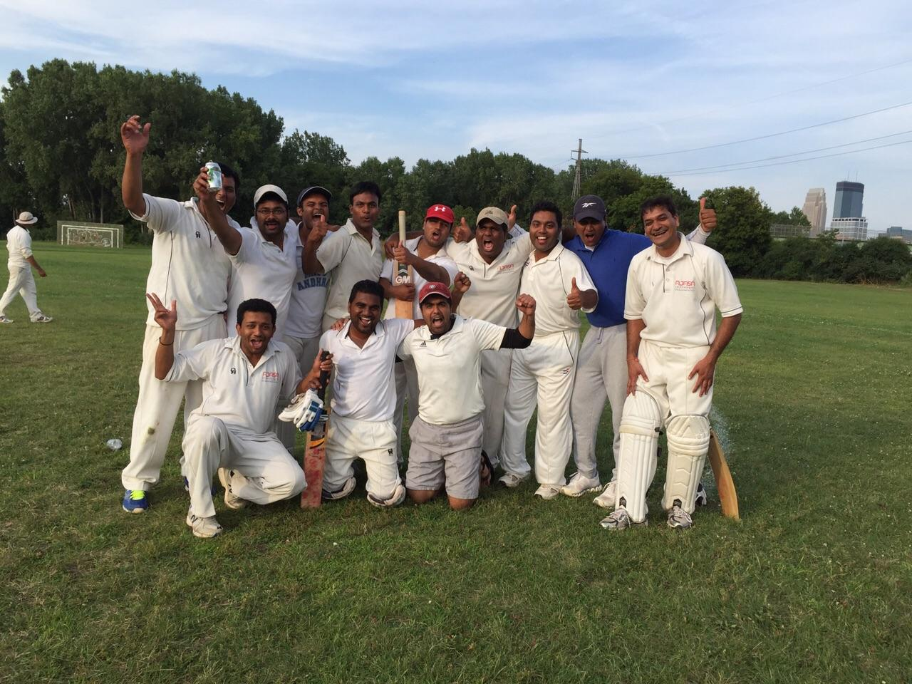Proud Stallions after reaching Premier Division final