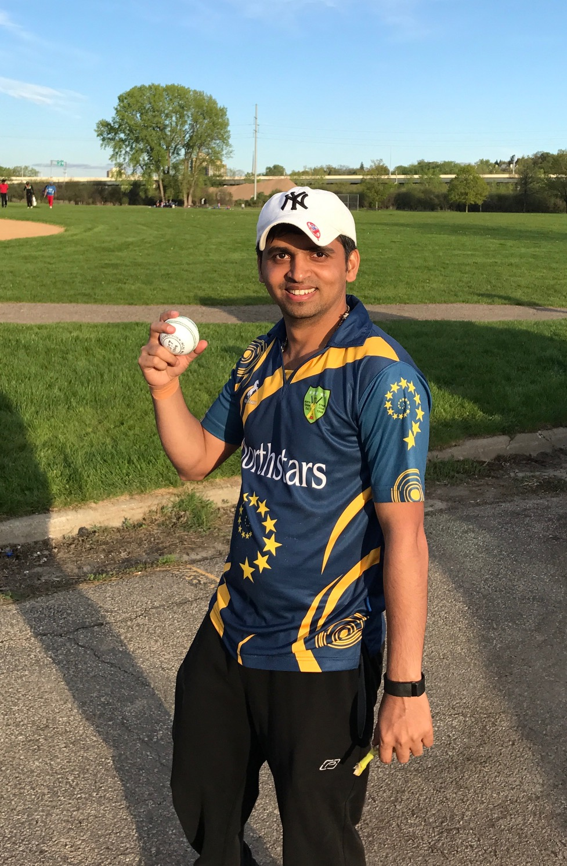 Kumar Bhat bowled dream spell against Windies