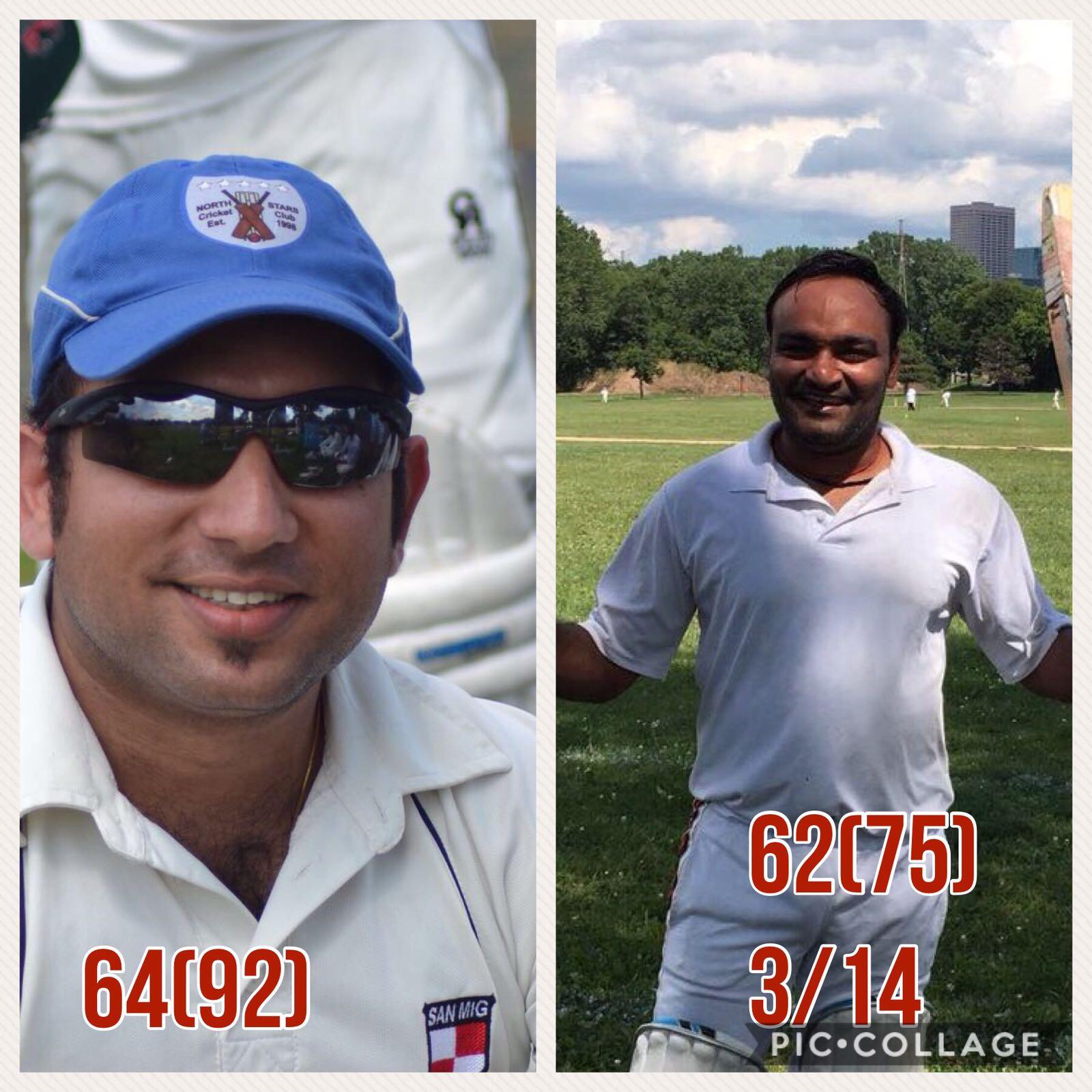 Vijay's heroics and Gagan's steady innings leads Rising Stars to third consecutive win.