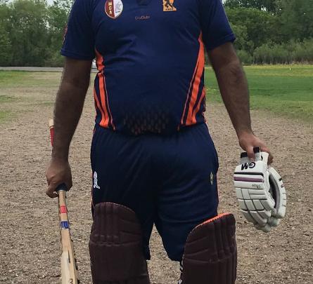 Naveen's 76 runs in 69 balls!