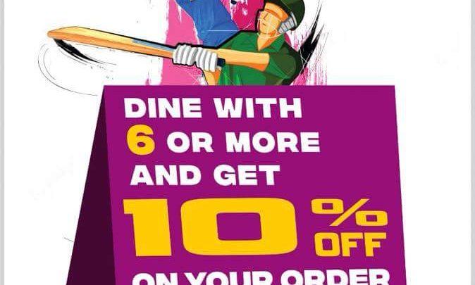 10% Discount in Bawarchi Biryani in Plymouth!