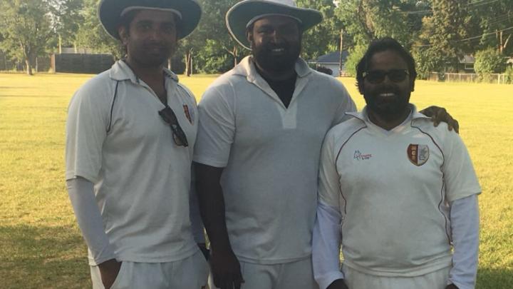 Rajkamal's unbeaten 89 runs!