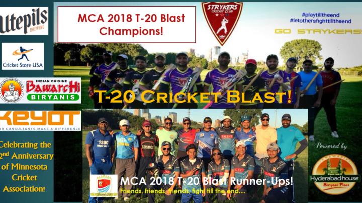T-20 Blast 2018! Finalists!!